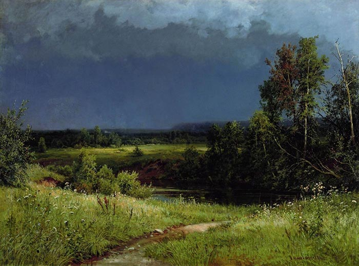 Ivan Shishkin, Before the Storm, 1884