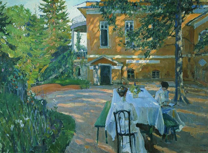 Sergey Arsenievich Vinogradov, In the Summer, 1908