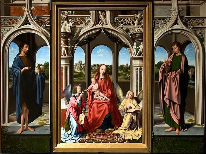 The Morrison Triptych, c 1500
