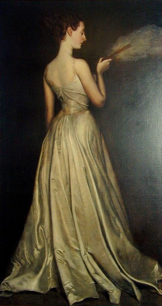 Antonio de La Gándara, Madame Pierre Gautreau, 1898