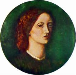 Elizabeth Siddal, Self-Portrait, 1854