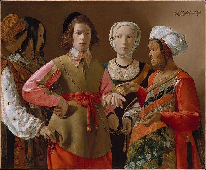 Georges de la Tour, The Fortune-Teller, circa 1630s