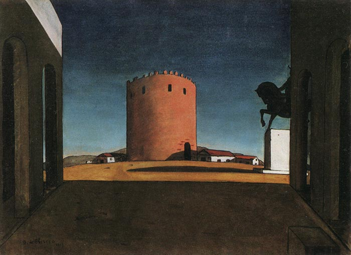 Giorgio de Chirico, The Red Tower, 1913