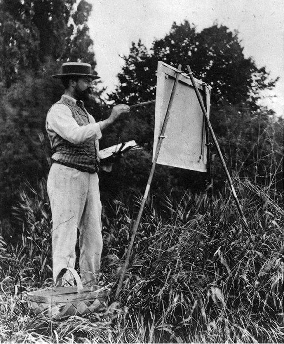 John Singer Sargent Painting Plein Air