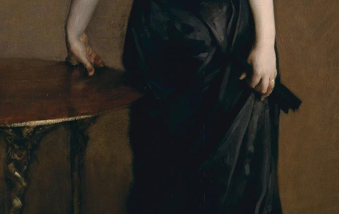John Singer Sargent, Portrait of Madame X, 1884 (Close-Up 2)