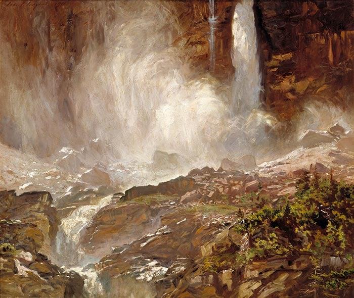 John Singer Sargent, Yoho Falls, 1916