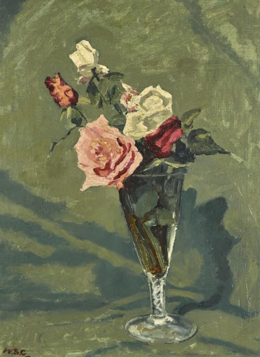 Sir Winston Churchill, Study of Roses