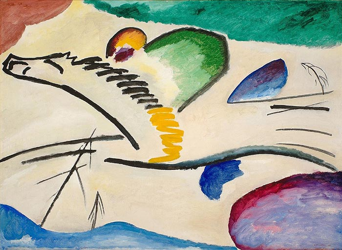 Wassily Kandinsky, The Rider, 1911