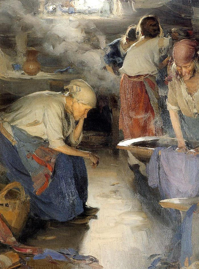 Abram Arkhipov, Laundress, 1890