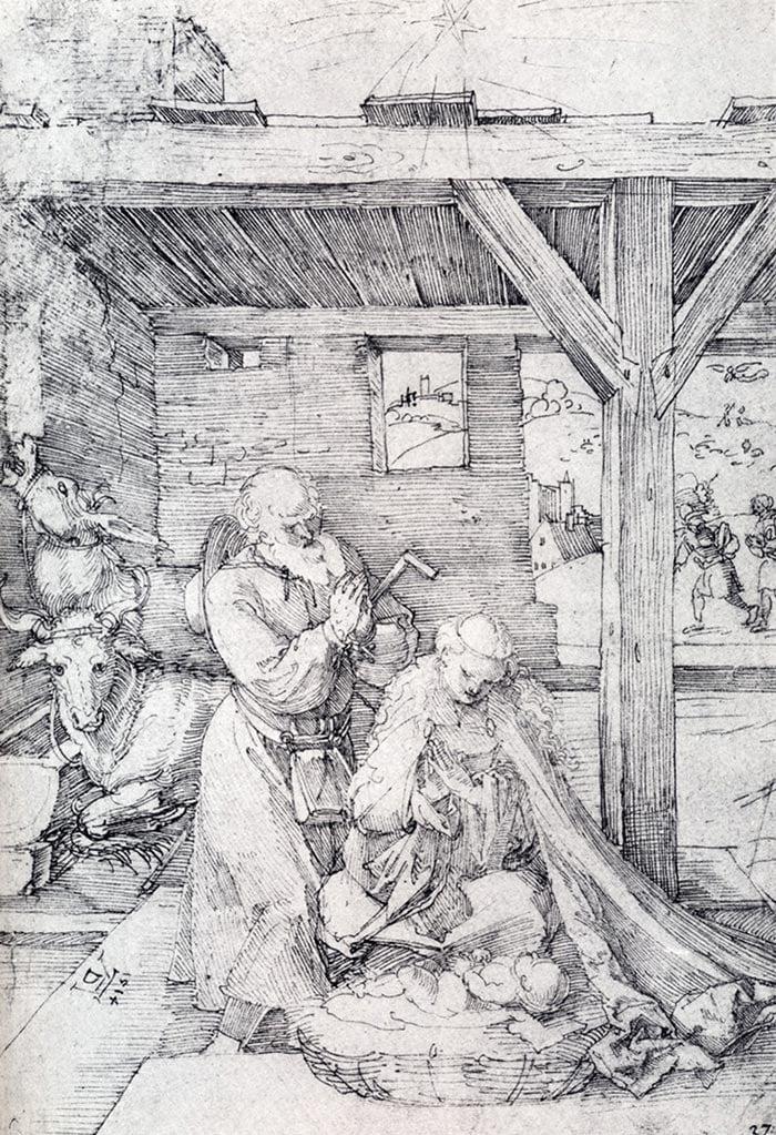 Albrecht Durer, Christmas,1514