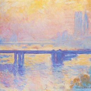 Claude Monet, Charing Cross Bridge, 1903