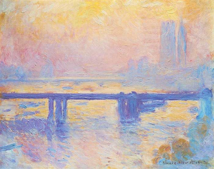 Claude Monet, Charing Cross Bridge, 1903