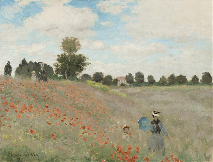 Claude Monet, Poppies, 1873