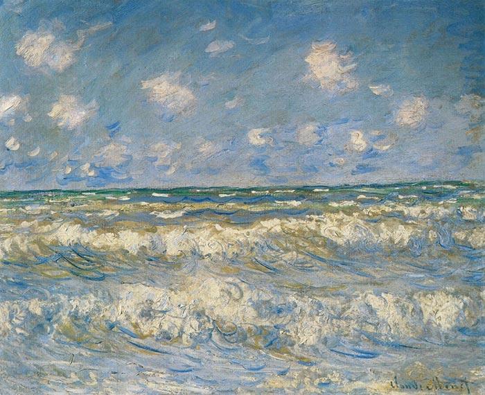 Claude Monet, Stormy Sea, 1884