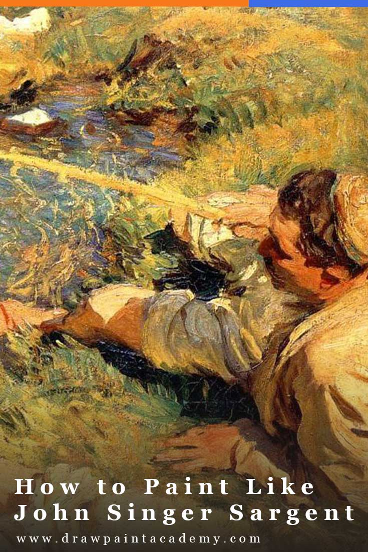 John Singer Sargent (1856 - 1925) was a remarkable and prolific artist, having created over 900 oil paintings and 2,000 watercolor paintings during his life. You will notice that I use his work to illustrate many of the posts on Draw Paint Academy. In this post, I take a closer look at his work to see exactly what made him such a remarkable artist and what you can apply to your own paintings. #drawpaintacademy #johnsingersargent #oilpainting