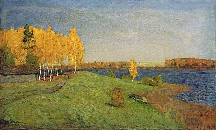 Isaac Levitan, Golden Autumn, 1896