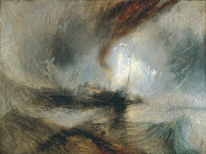 J.M.W. Turner, Snow Storm, 1842
