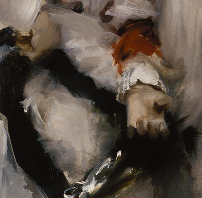 John Singer Sargent, A Parisian Beggar Girl, 1877 (Close-Up 1)
