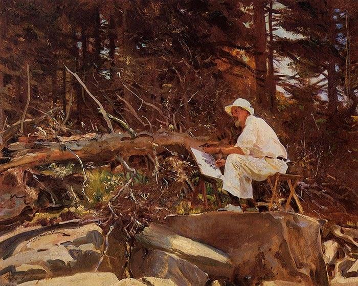 John Singer Sargent, Artist, 1922