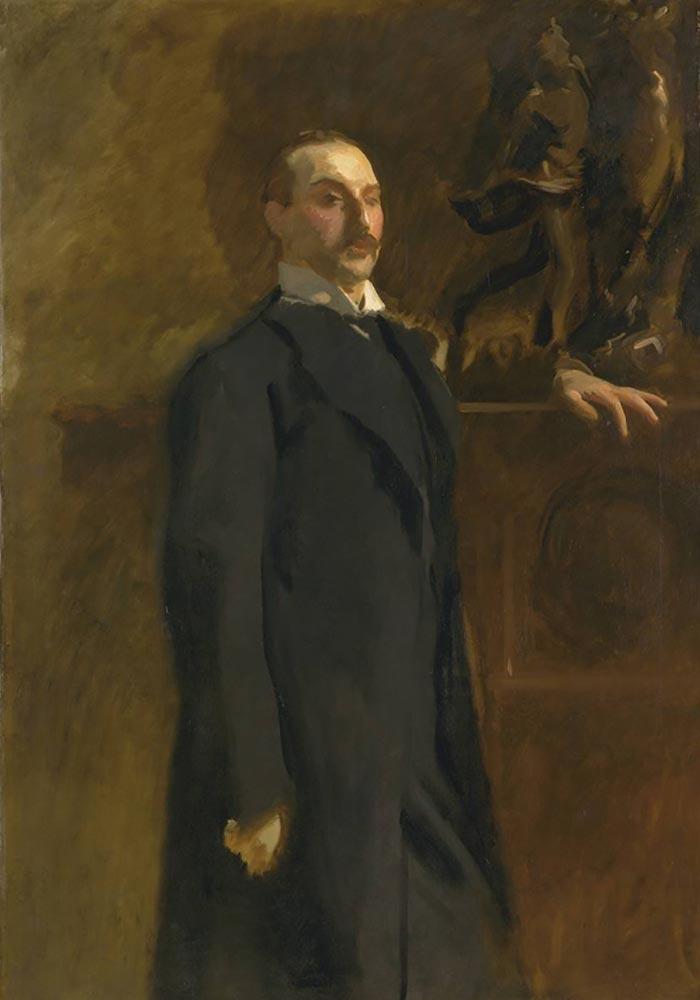 John Singer Sargent, Edward, Son of Asher Wertheimer, 1902 (Unfinished)