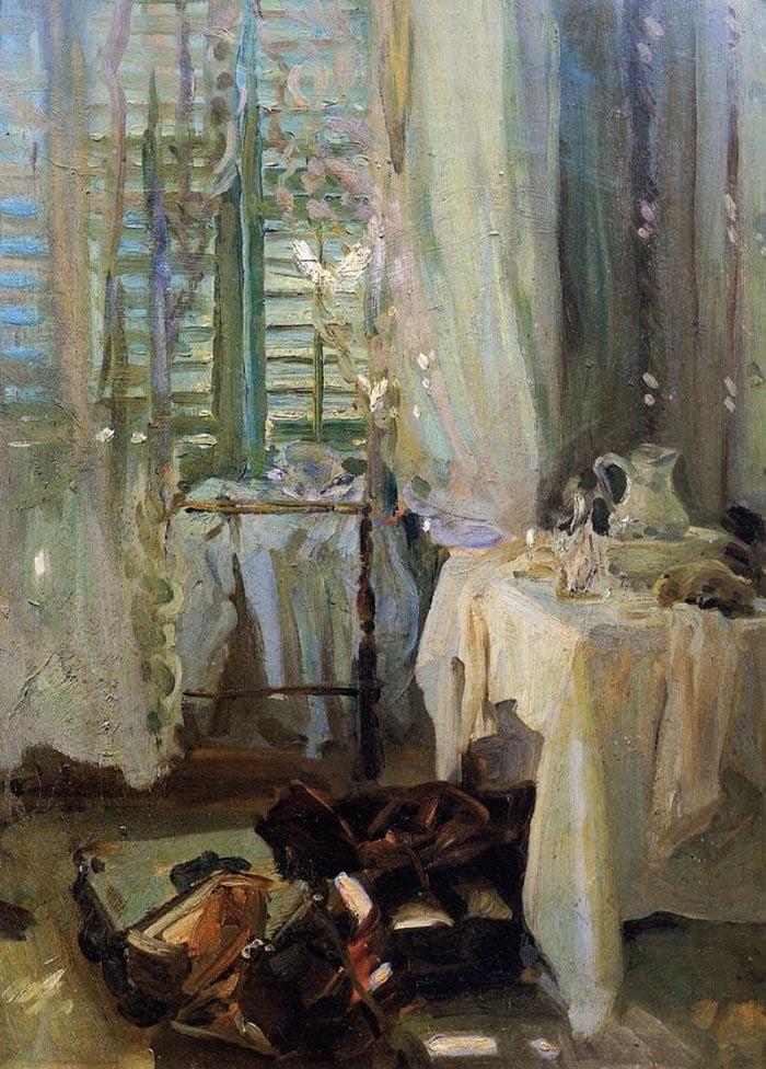 John Singer Sargent, Hotel Room, 1906