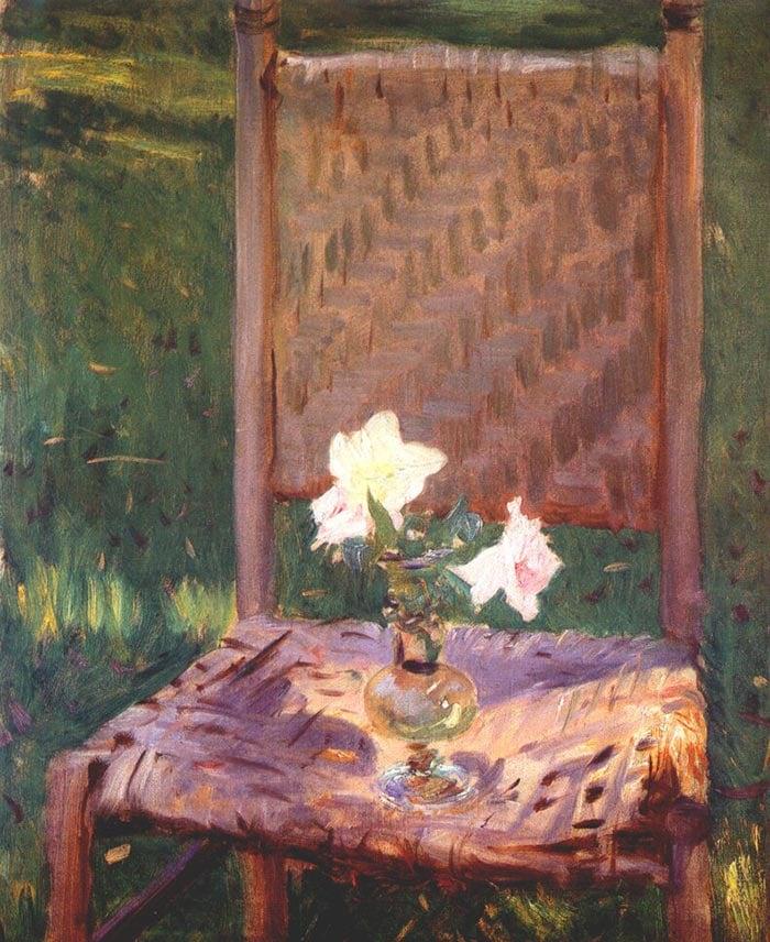 John Singer Sargent, Old Chair, 1886