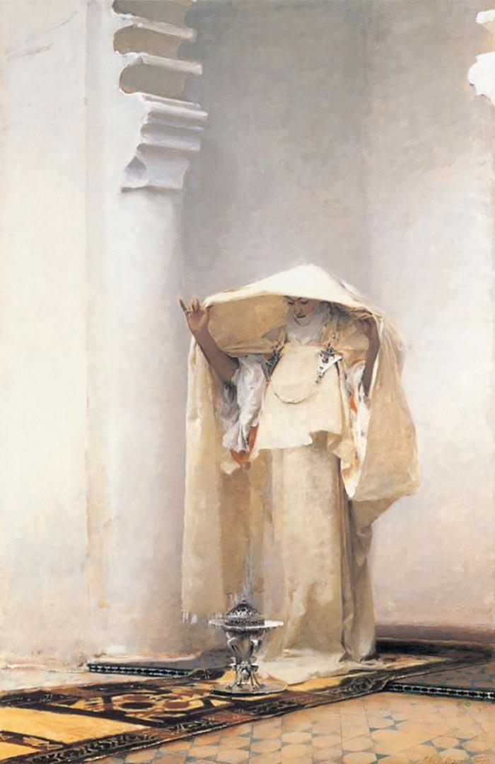 John Singer Sargent, Smoke of Ambergris, 1880