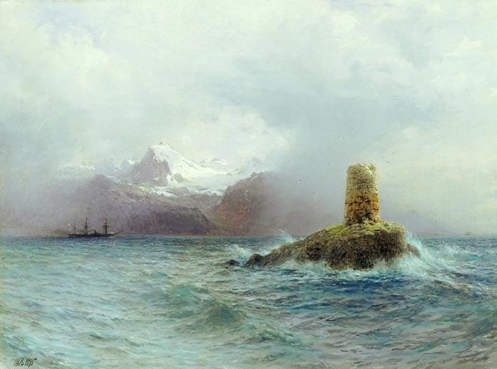 Lev Feliksovich Lagorio, Lofoten Island, 1895