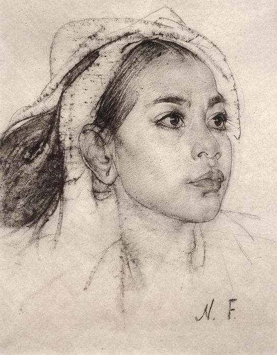 Nicolai Fechin Drawing