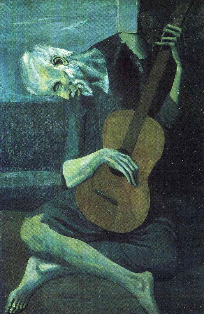 Pablo Picasso, The Old Guitarist, 1904