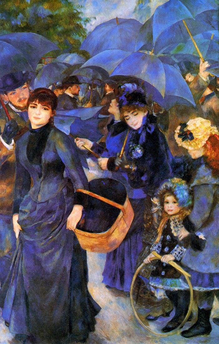 Pierre-Auguste Renoir, Umbrellas, 1886