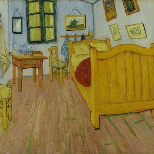 Vincent van Gogh, Bedroom in Arles (First Version), 1888