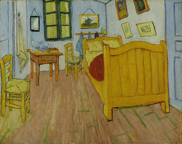 Vincent van Gogh, Bedroom in Arles (First Version), 1888