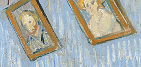Vincent van Gogh, Bedroom in Arles (Second Version), 1889 (Wall Paintings)
