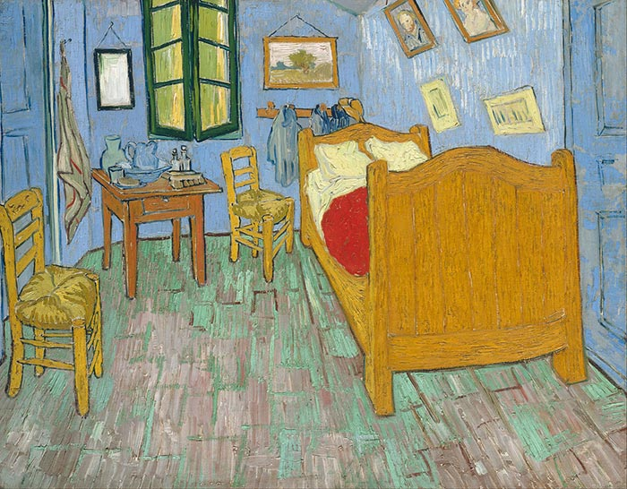 Vincent van Gogh, Bedroom in Arles (Second Version), 1889