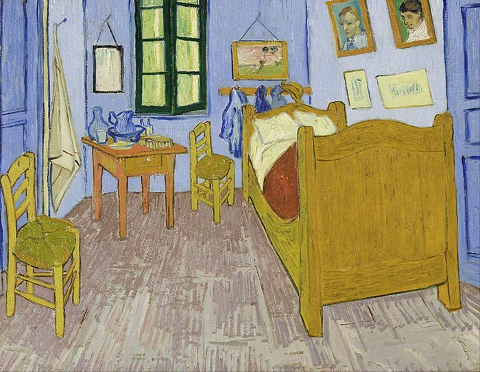 Vincent van Gogh, Bedroom in Arles (Third Version), 1889