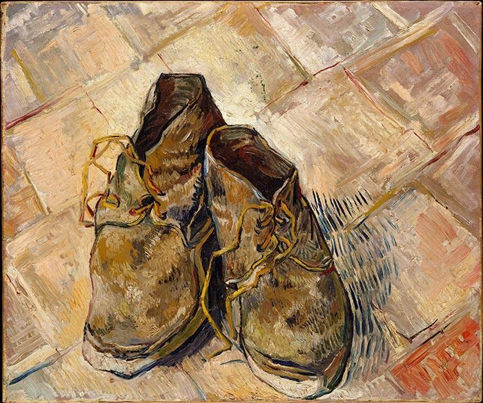 Vincent van Gogh, Pair of Shoes,1888