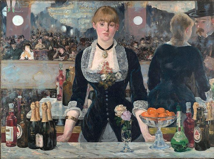 Édouard Manet, A Bar at the Folies-Bergère, 1882