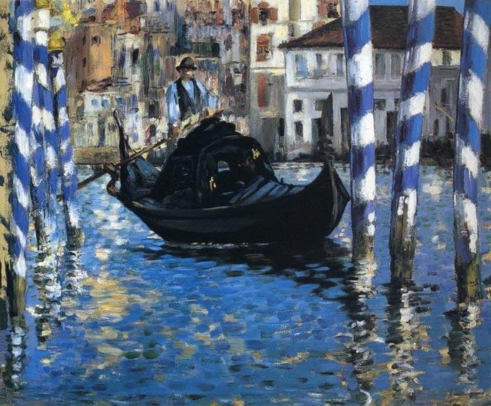 Édouard Manet, Blue Venice, 1875