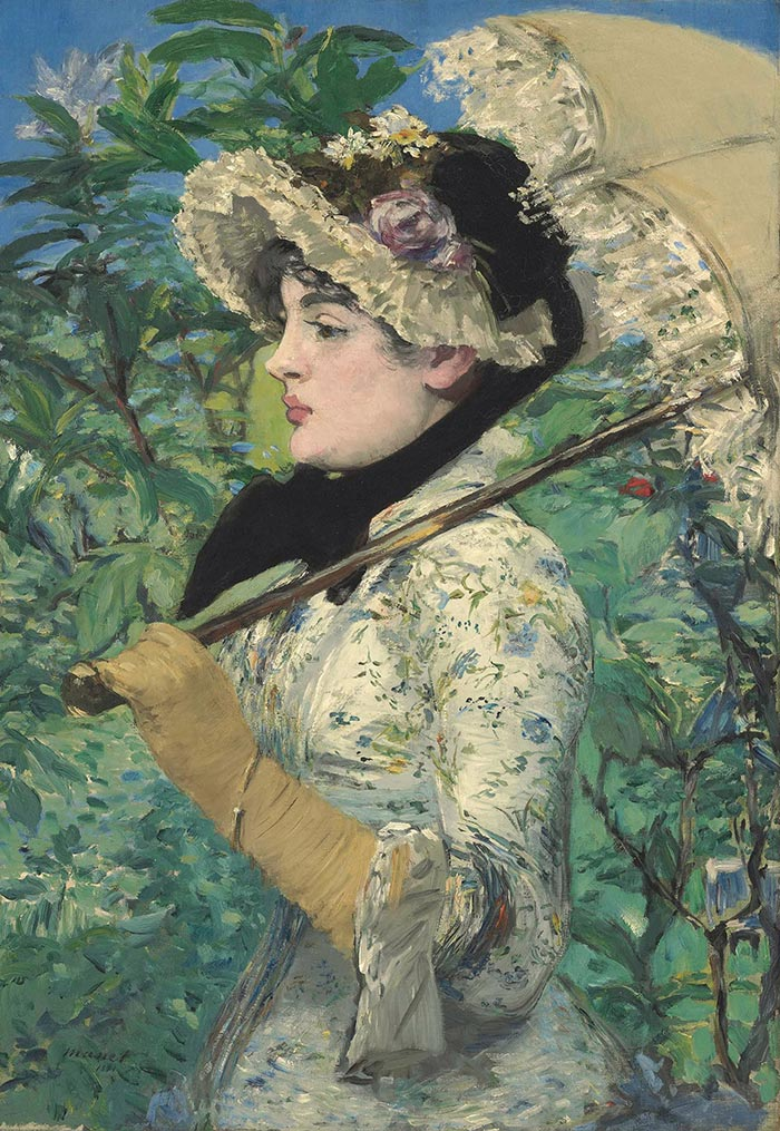 Édouard Manet, Spring, 1881