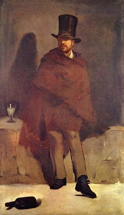 Édouard Manet, The Absinthe Drinker, 1859