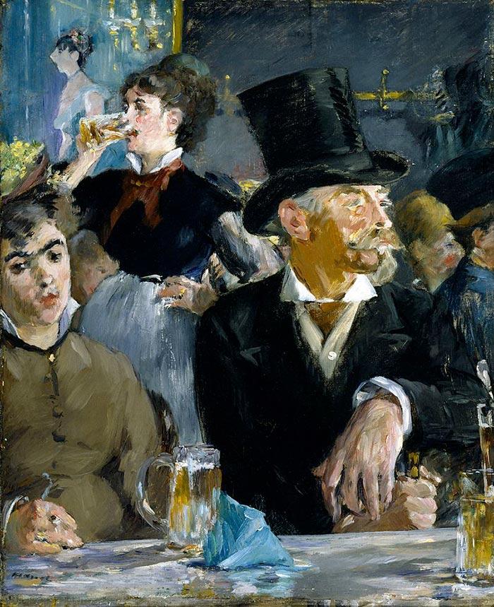 Édouard Manet, The Cafe Concert, 1878