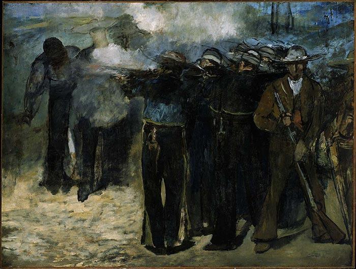 Édouard Manet, The Execution of Emperor Maximilian, 1867