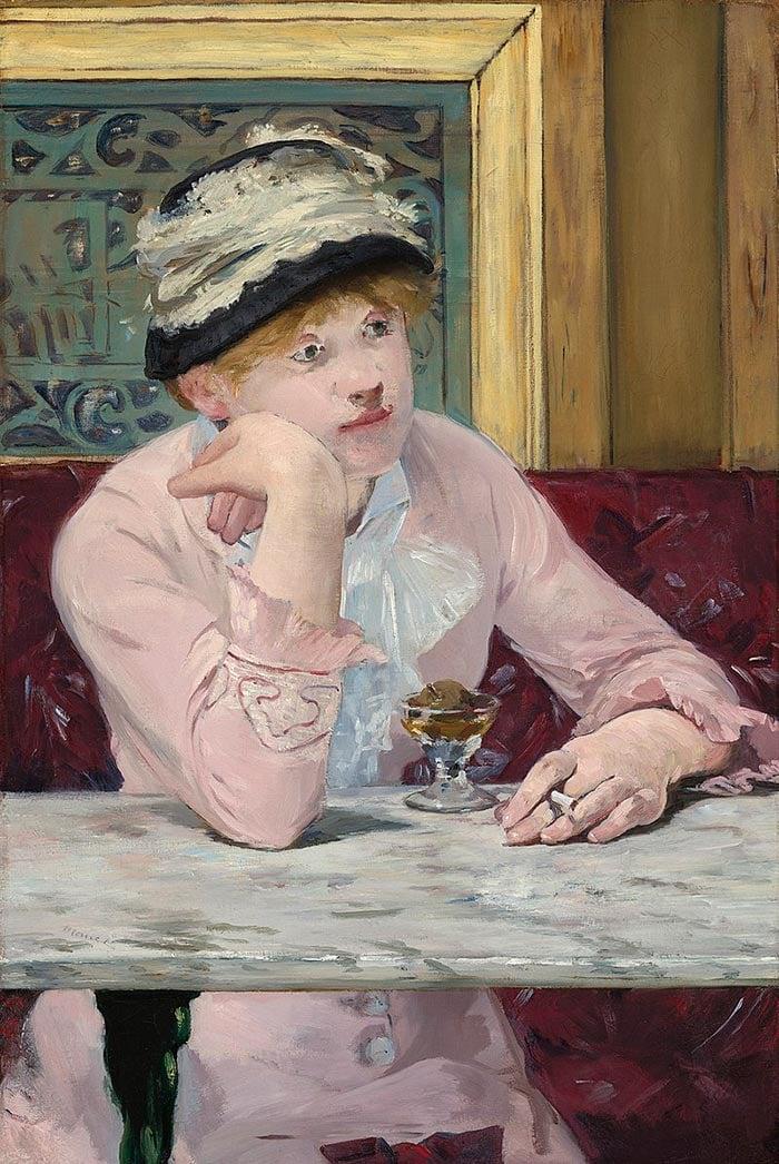 Édouard Manet, La ciruela, 1878