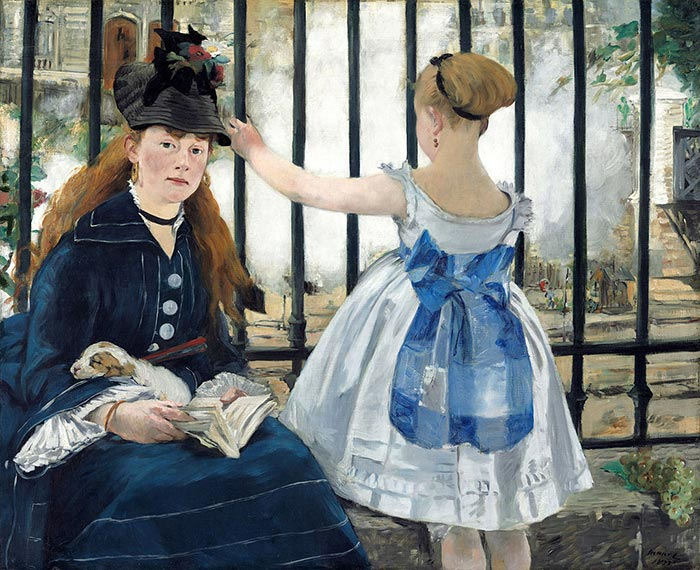 Édouard Manet, The Railway, 1873