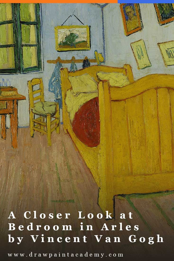 A Closer Look at Bedroom in Arles by Vincent Van Gogh