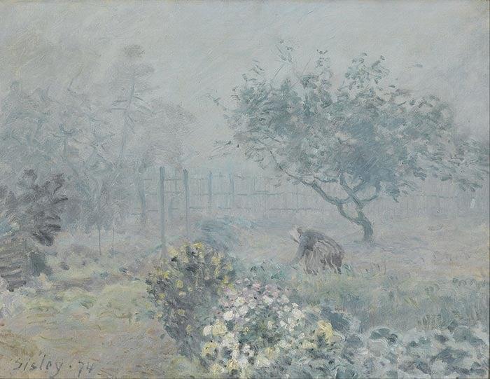Alfred Sisley, Fog, Voisins, 1874