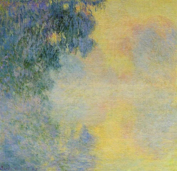 Claude Monet, Misty Morning on the Seine, Sunrise, 1897