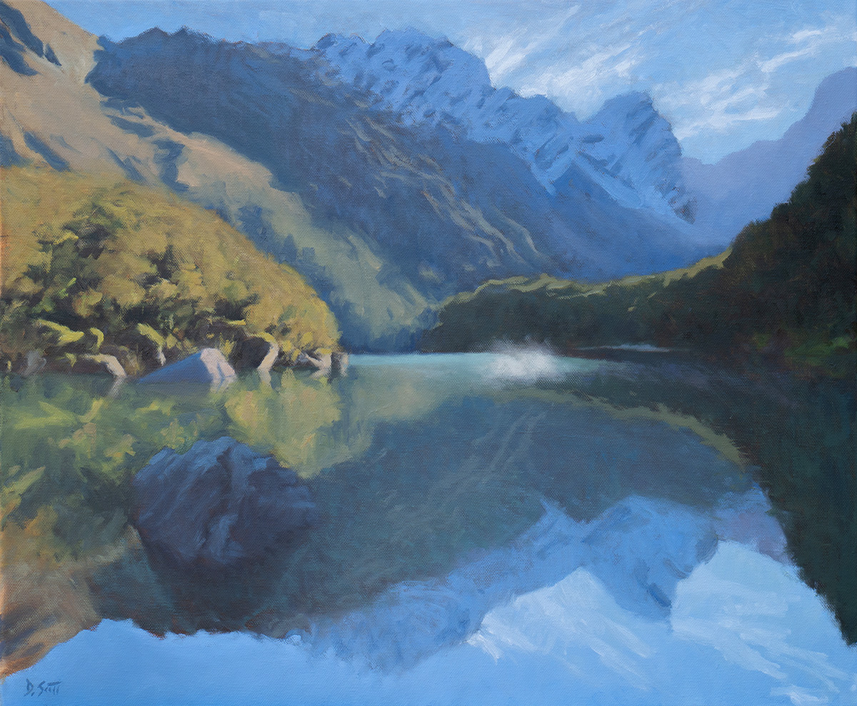 Dan Scott, New Zealand Reflections, 2019