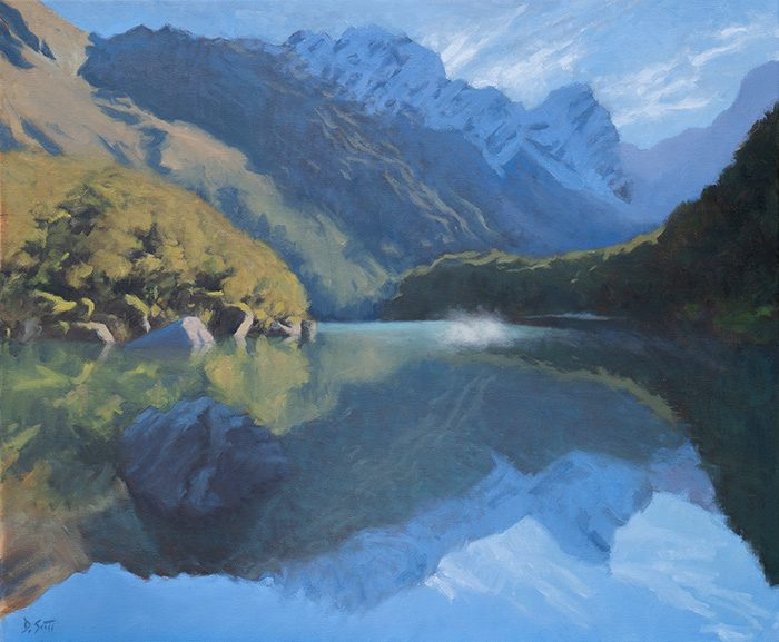 Dan Scott, New Zealand Reflections, 2019, 700W